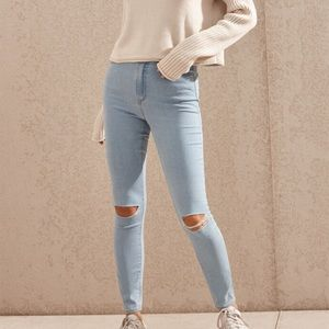 🌸NWT PACSUN super high-rise jegging